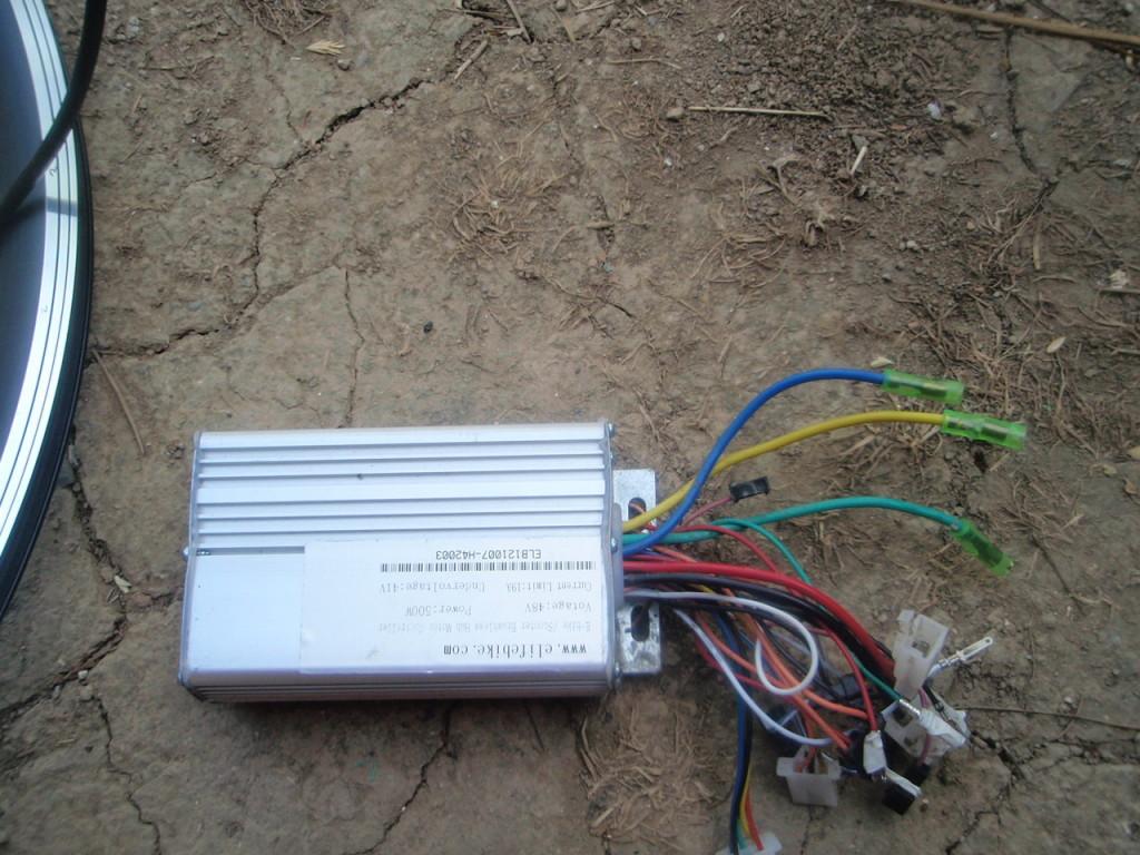elektrobicykel riadiaca jednotka