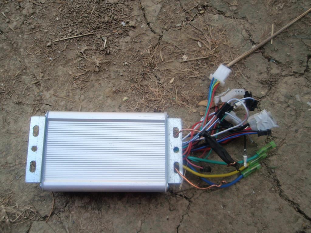 riadiaca jednotka z elektrobicyklu