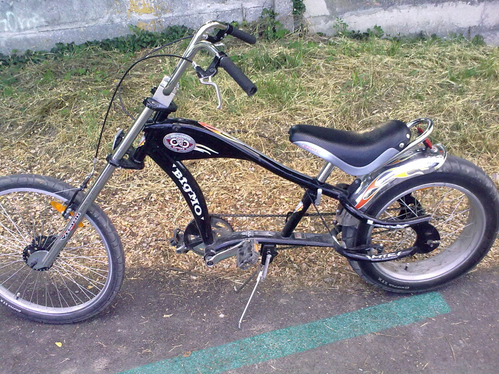 chopper bicykel