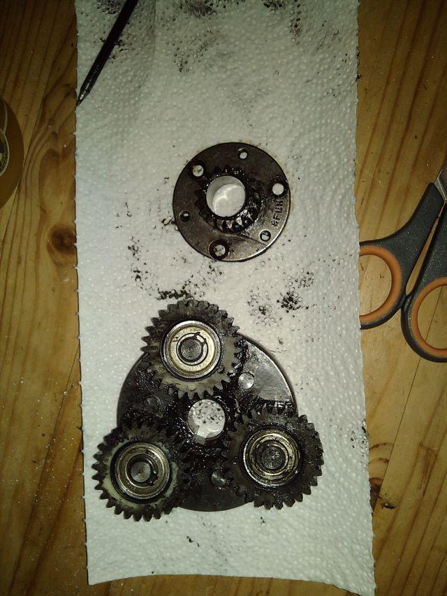 hub motor planetova prevodovka