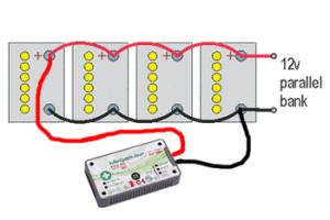 paralelne zapojenie batérie