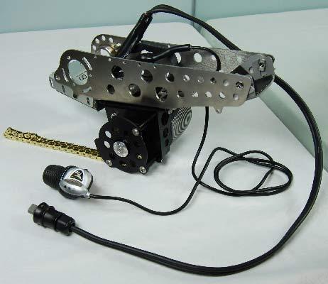stredový motor (retazový)