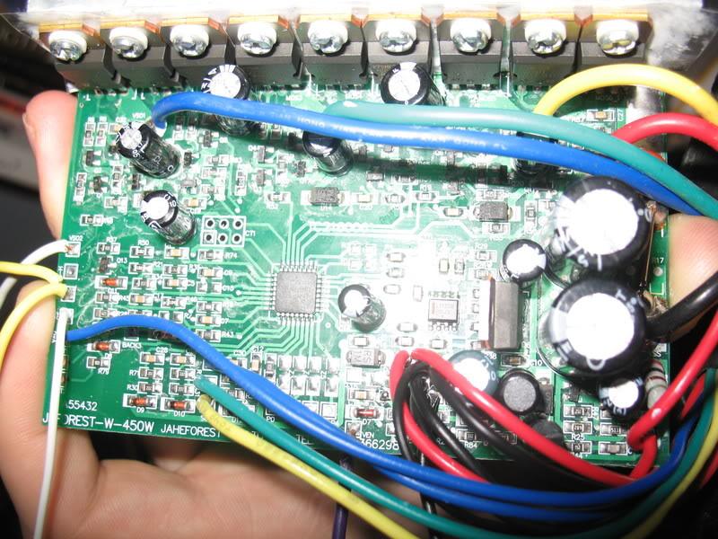 Schéma obvodu riadiacej jednotky Hua Tong xc866