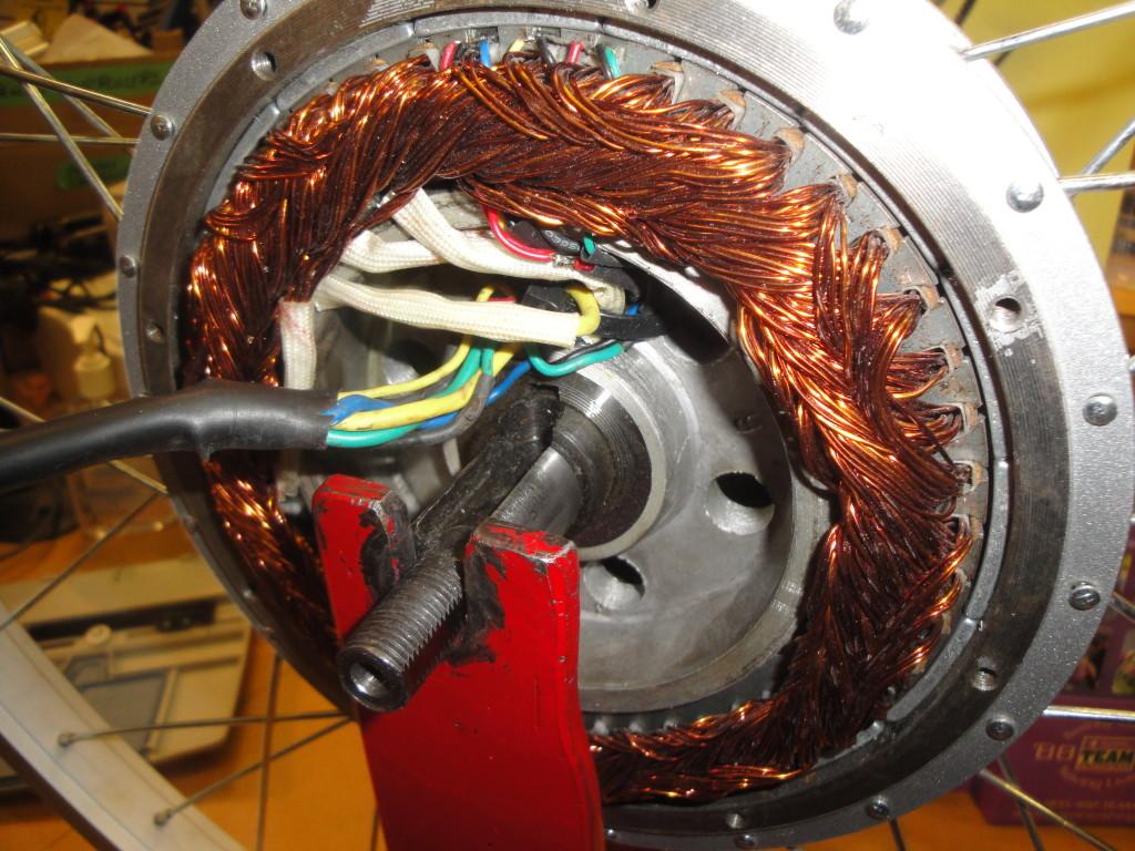 hub motor z vnutra elektrobicykel