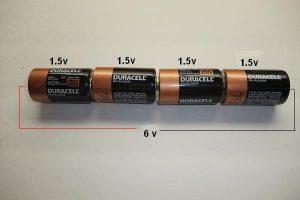 sériové zapojenie batérií