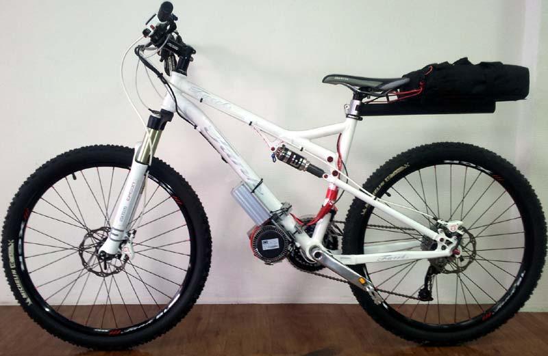 cyklone elektro bicykel
