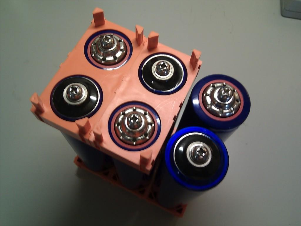 lifepo4 batériové pole