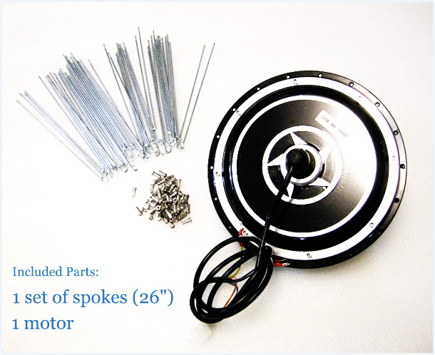 Motor 48V 1000W za 150 usd (ebay)