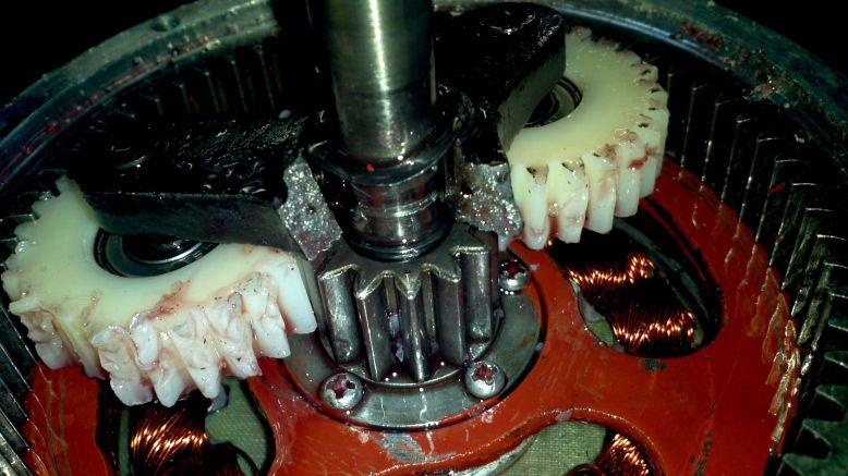 elektrobicykel porucha motor