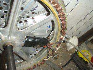 lopatkový chladič 2