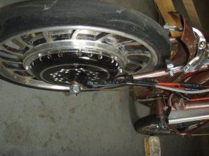 namontované motor v bicykli