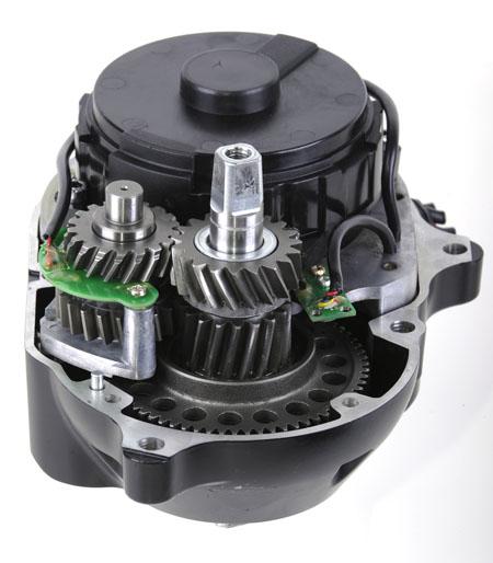 motor stredový mpf drive