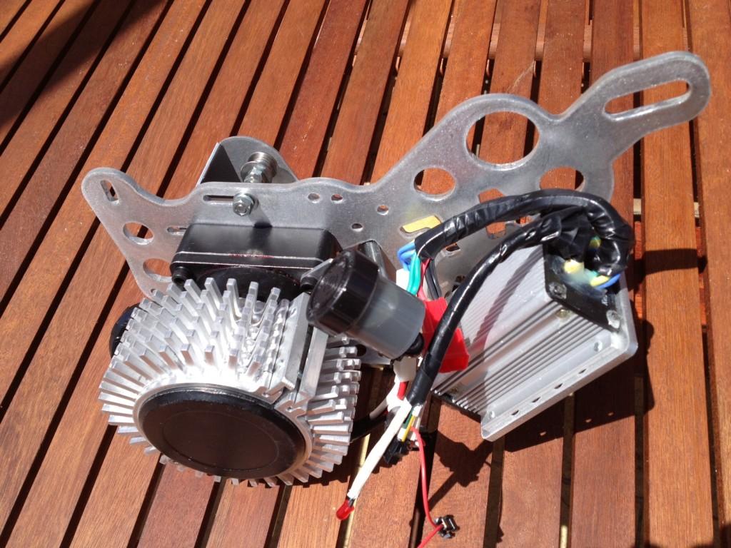 aft elektrobicykel sada stredovy motor
