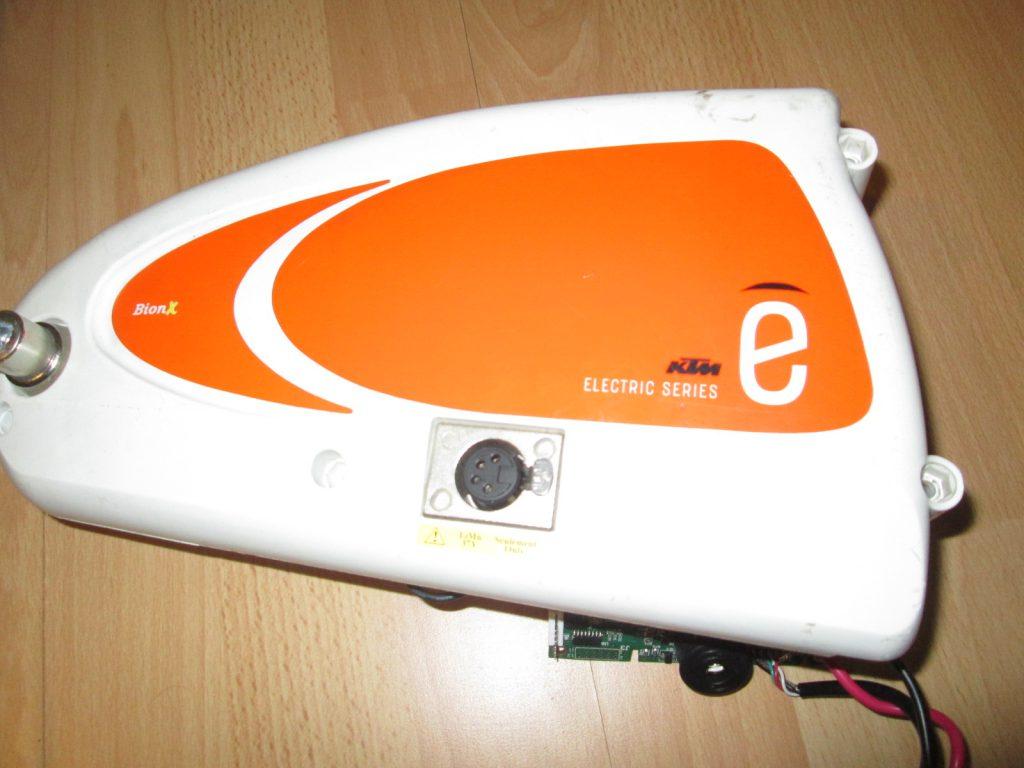 BionX sada z Ktm elektrobicyklu