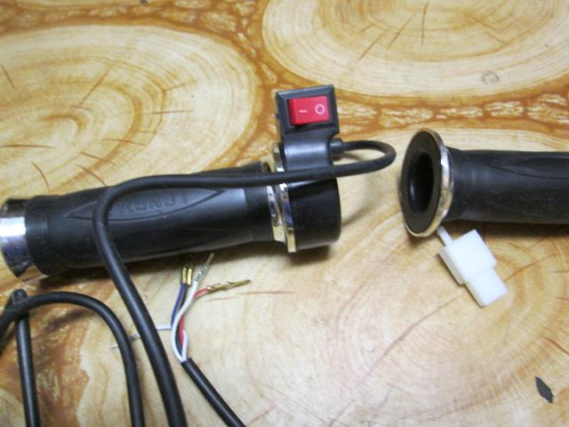 chrom rukovät na elektrobicykel