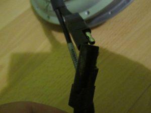 silový kábel z motoru bionx