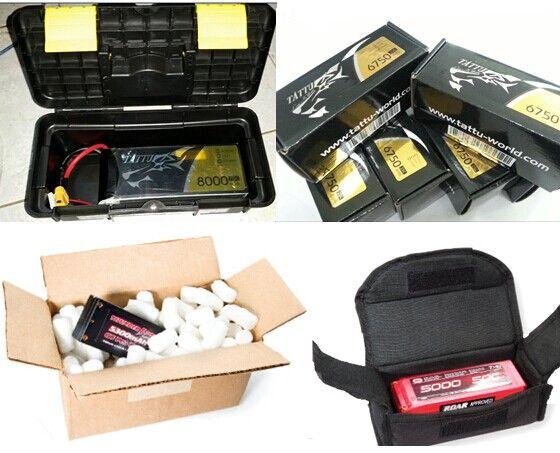 skladovanie lipo batérií