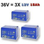 bateria pre elektropohon 36V