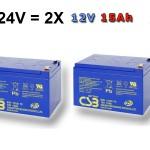 bateria pre vozik 24V