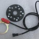 Pedal asistent elektrobicykel