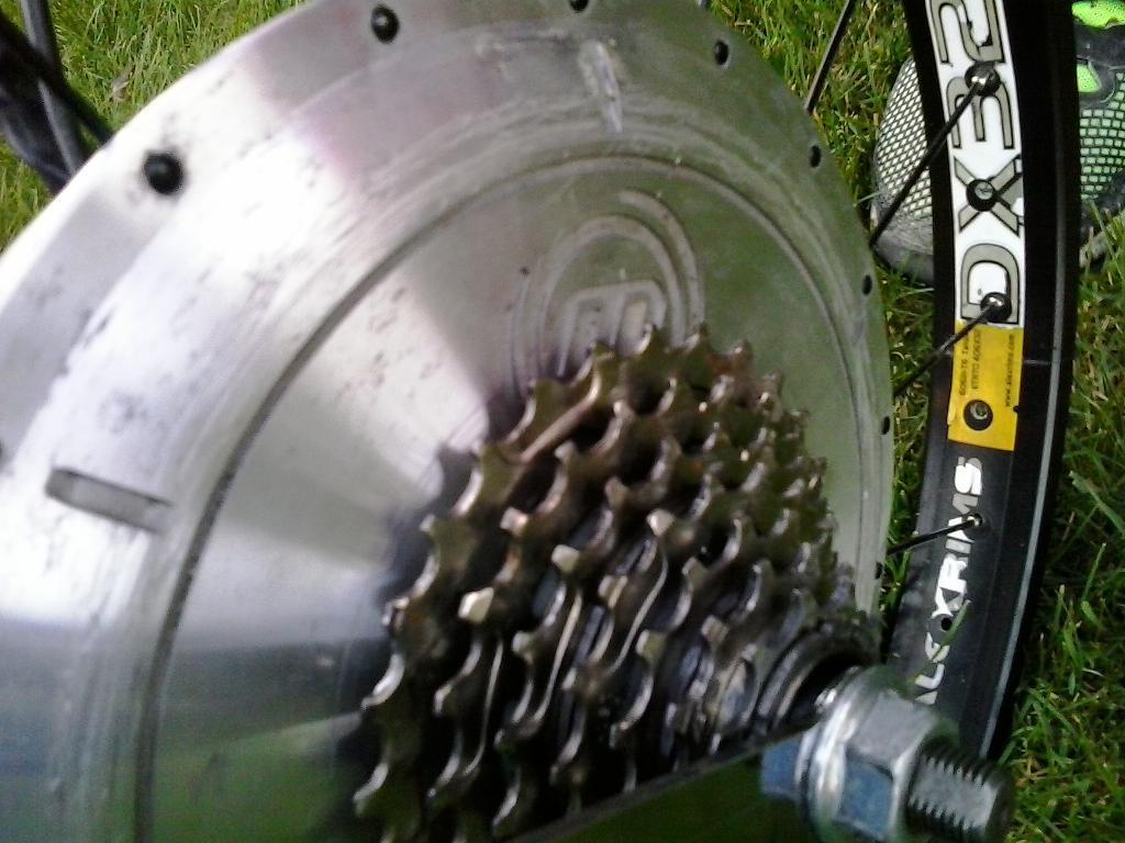 hubmotor rozobraty
