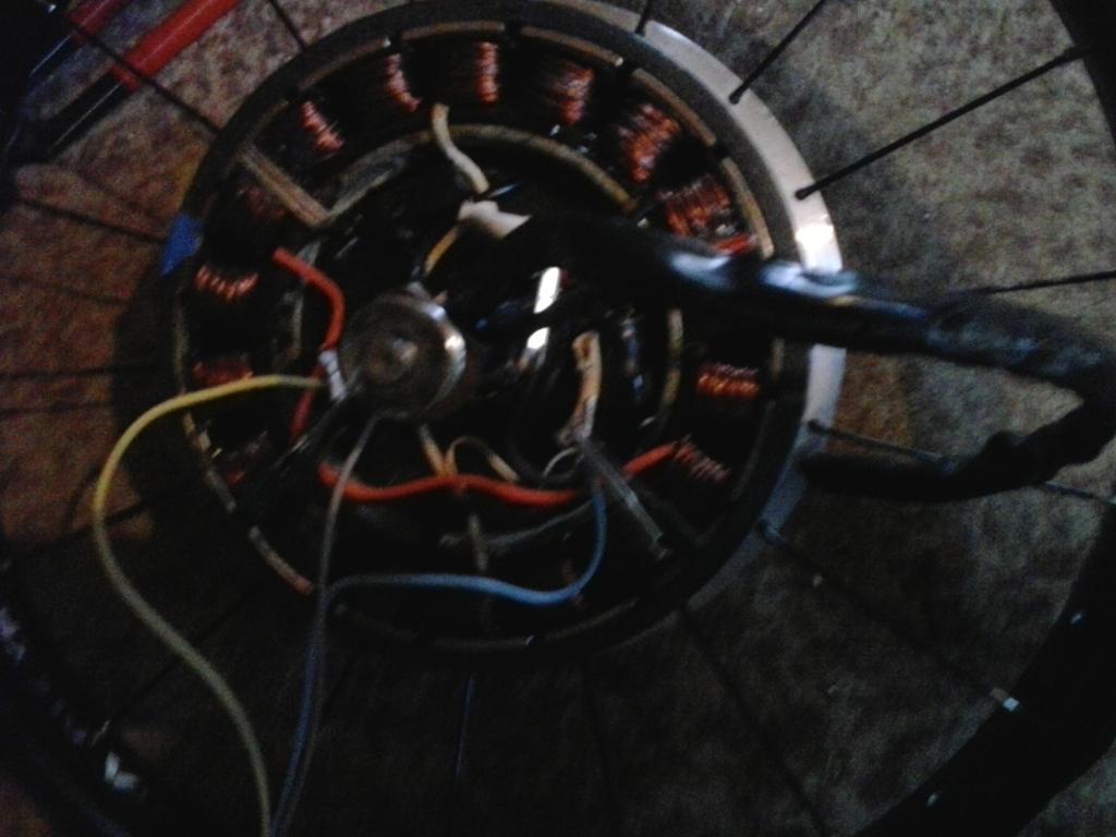 motor z elektrobicykla