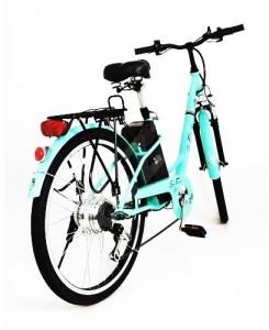 elektrický bicykel s li-ion batériou
