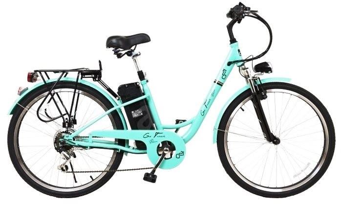 G21 Alyssa lacný elektrický bicykel pre seniorov