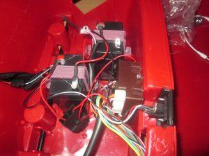 elektrické autíčko batérie