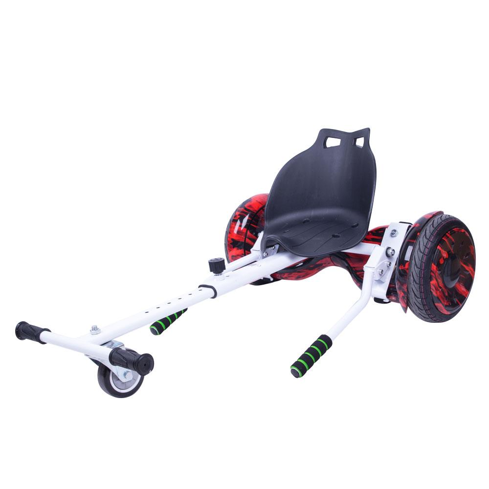 Hoverkart spôsob ako vylepšiť hoverboard na elektro-motokáru