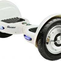 Biely hoverboard skymaster 10