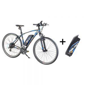 Crossový elektrobicykel Devron 28161 s náhradnou batériou 145 Ah pánsky 300x300 Devron od Insportline s prídavnou batériou   kapacita spolu 25.5Ah