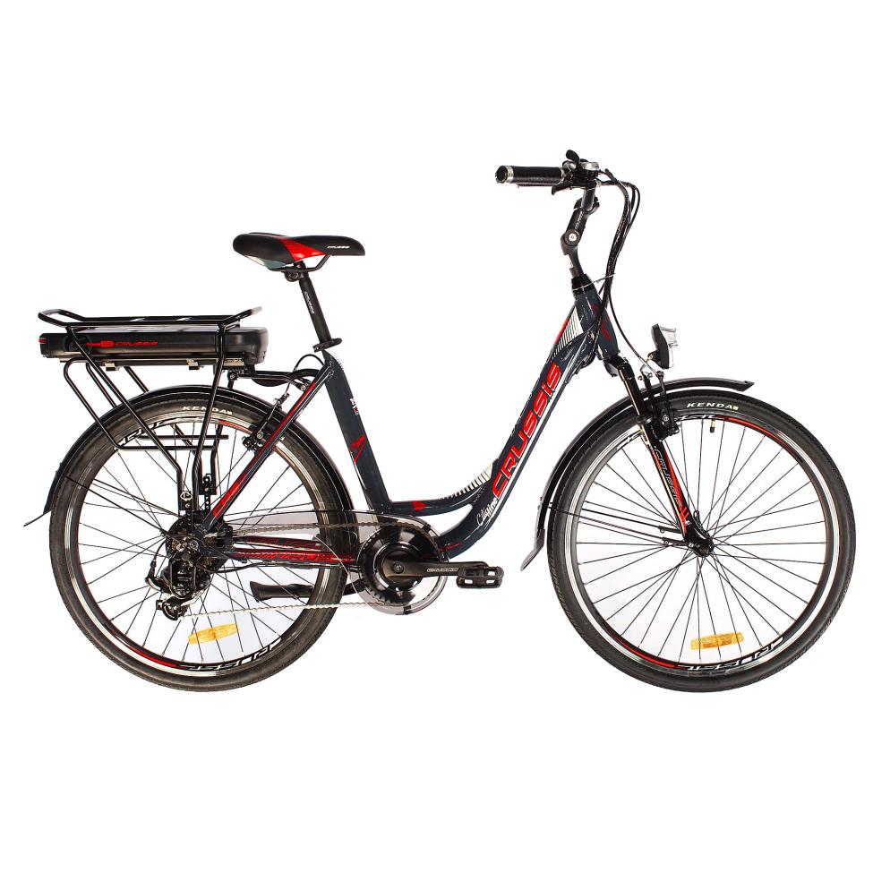 Mestský elektrobicykel Crussis e-City 1.10-S – model 2019 – Záruka 10 rokov
