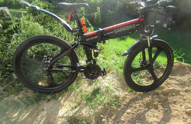 Skladací horský elektrobicykel SAMEBIKE LO26 recenzia